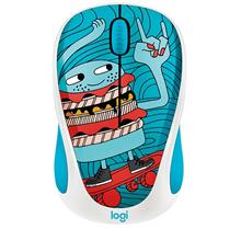 Logitech Doodle Collection M238 Skateburger Wireless Mouse